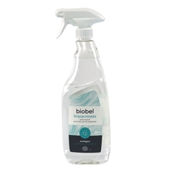 LimpiaCristales bioBel 750mL. Spray - Glass cleaner bioBel 750mL. Spray - Netejavidres bioBel 750mL.Spray